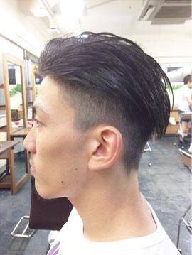 頭頂部 薄毛 ツーブロック